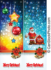 abstract celebration greetings with Christmas illustrative...