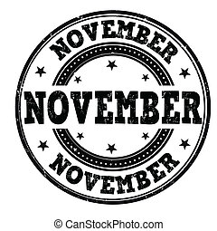 November stamp