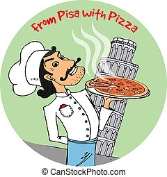 From Pisa with Pizza