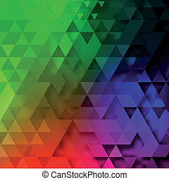 Triangle abstract vector background illustration
