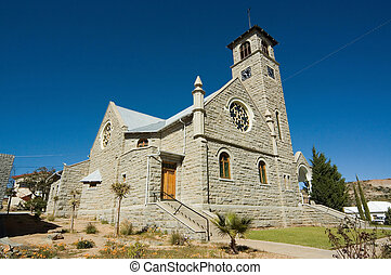 Dutch Reformed Church Namaqualand in Springbok, South Africa...