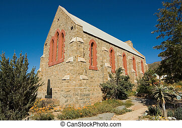 Old All Saints Anglican Church in Springbok, South Africa