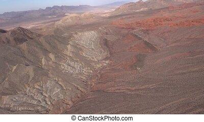 Aerial Desert Landscape - Sandstone, Limestone, Rolling...
