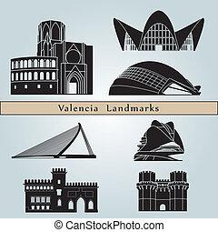 Valencia Landmarks - Valencia landmarks and monuments...