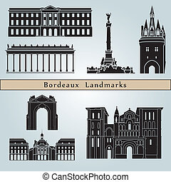 Bordeaux Landmarks - Bordeaux landmarks and monuments...