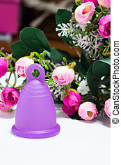 Intimate hygiene product - Studio shot of a bell-shaped...