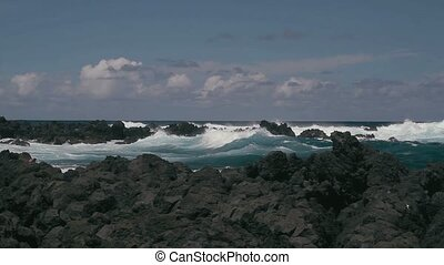 Shore Line, Hawaii - 1080p, Shore Lines, Coast Line on...