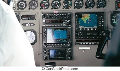 Pilot Handles Instruments - 1080p, Pilot Handles Instruments...