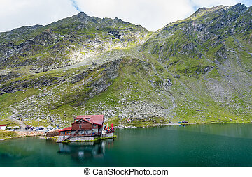 Balea Lake, Fagaras mountaines, Romania
