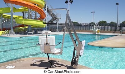 Pool ADA Compliant Handicap Chair - ADA Compliant Handicap...