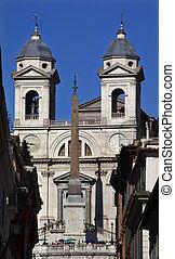 Trinita dei Monti 16th Century French Church Egyptian...