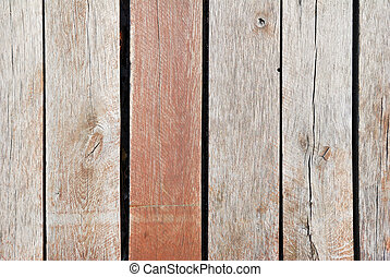 Wooden board fence texture in detail