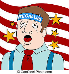 Recalled Politician - An image of a recalled politician
