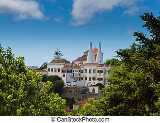 National palace of Sintra, Portugal