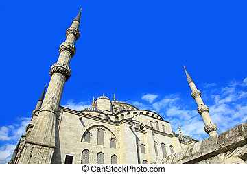 Sultan Ahmed Mosque, Istanbul - View of the Sultan Ahmed...