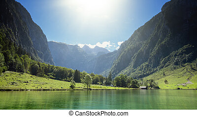 koenigssee - An image of the beautiful Koenigssee in Bavaria...