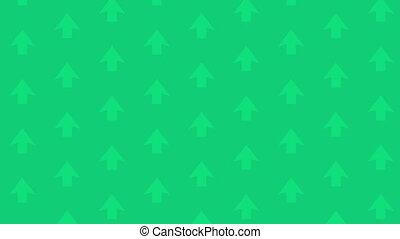 Scrolling Background Green Up Arrow