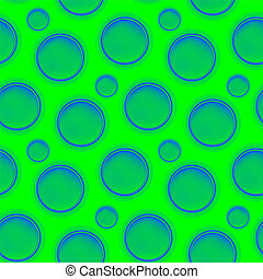 Vector fabric circles abstract seamless pattern background...