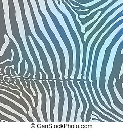 Vector. Zebra background.