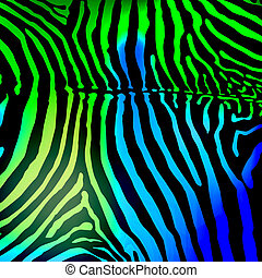 Vector Zebra background vector illustration 10 eps