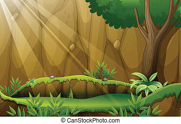 Jungle - Illustration of a jungle scene