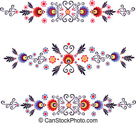 folk floral - polish folk design inspiration