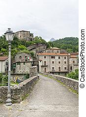 Codiponte, old village in Tuscany - Codiponte (Massa e...
