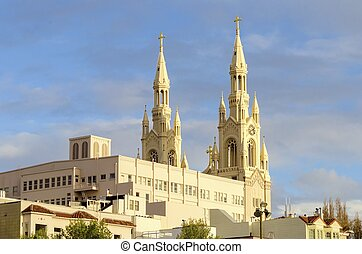 Saints Peter and Paul Church, San Francisco - The Saints...