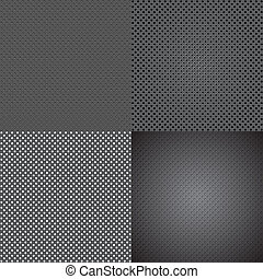 set background shiny silver with place for your text. - set...