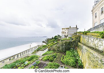 Alcatraz Garden, San Francisco, California - The Alcatraz...