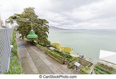 Alcatraz Garden, San Francisco, California - The Alcatraz...