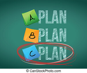 plan c selection illustration