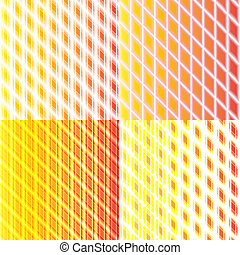 set of color abstract glowing background with place for your text.