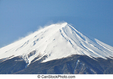 Mount Fuji - View of Mount Fuji from Kawaguchiko of Japan