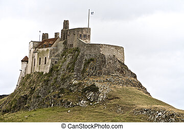 Lindisfarne Castle at Berwick upon Tweed,...