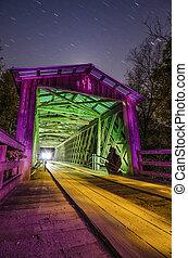 Old Covered Bridge in Fall Season - Elder's covered bridge...