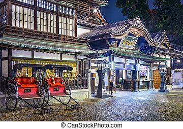 Dogo Onsen of Matsuyama, Japan - Dogo Onsen hot springs bath...