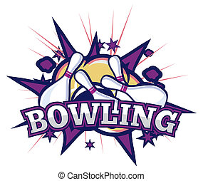 bowling clipart by brankica 7 373 bowling strike isolated stock