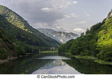 Prisaca Lake landscape - Landscape with Prisaca Lake...