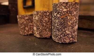 3 Cylindrical Sedimentary Rocks - In this video clip, we see...