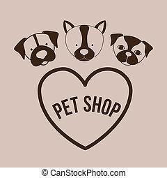desenho, Animais estimação