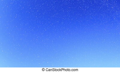 Starry sky over the reservoir in Kremenchuk Mountain Piviha...