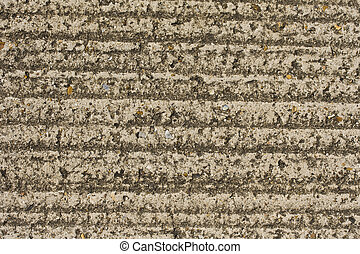 Grooved concrete floor texture for use as a background