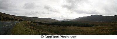 wicklow mountains - the wicklow mountains in ireland