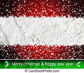 Christmas background  on Cement wall Background texture