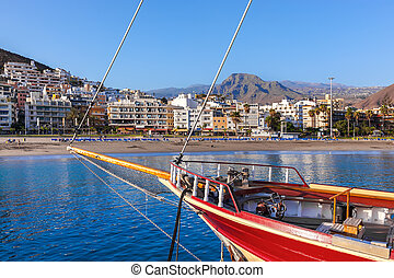 Beach in Tenerife island - Canary Spain