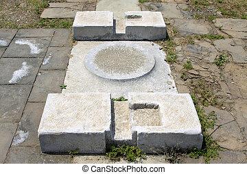 broken cornerstone - broken cornerstone, Eastern Tombs of...