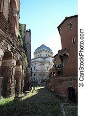 synagogue in Rome - Tempio Maggiore di Roma is the largest...