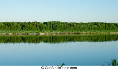 Pinyega River of Arkhangelsk Oblast in Russia on period of...