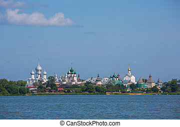 Rostov Kremlin, the Golden ring of Russia - Kremlin of...